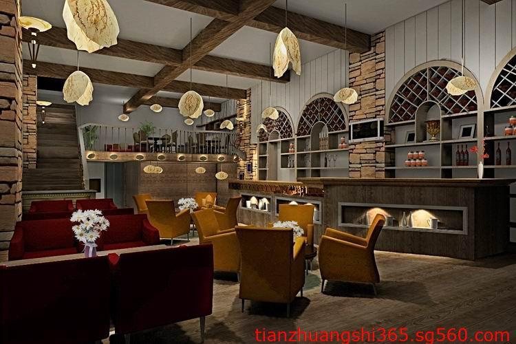 高档温馨的咖啡厅装修设计要点