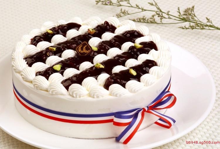 蓝莓香草蛋糕_蓝莓蛋糕_就爱族_深圳可颂食品有限公司