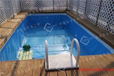 別墅私家娛樂支架游泳池