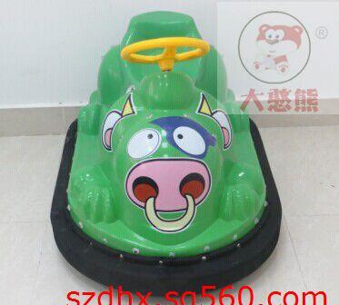 极品咪咪碰碰车儿童电动玩具车电动游乐设备小牛晶草莓图片