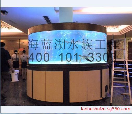 上海定做鱼缸 圆柱鱼缸 异形鱼缸 亚克力圆柱鱼缸