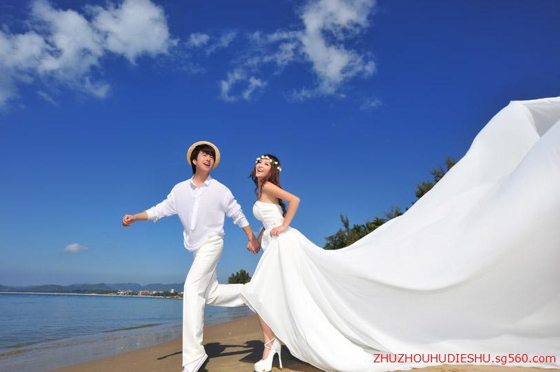 怎样拍出浪漫海边婚纱照