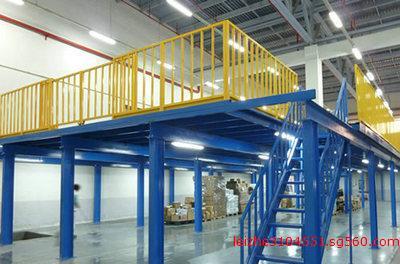 钢结构夹层 钢结构框架