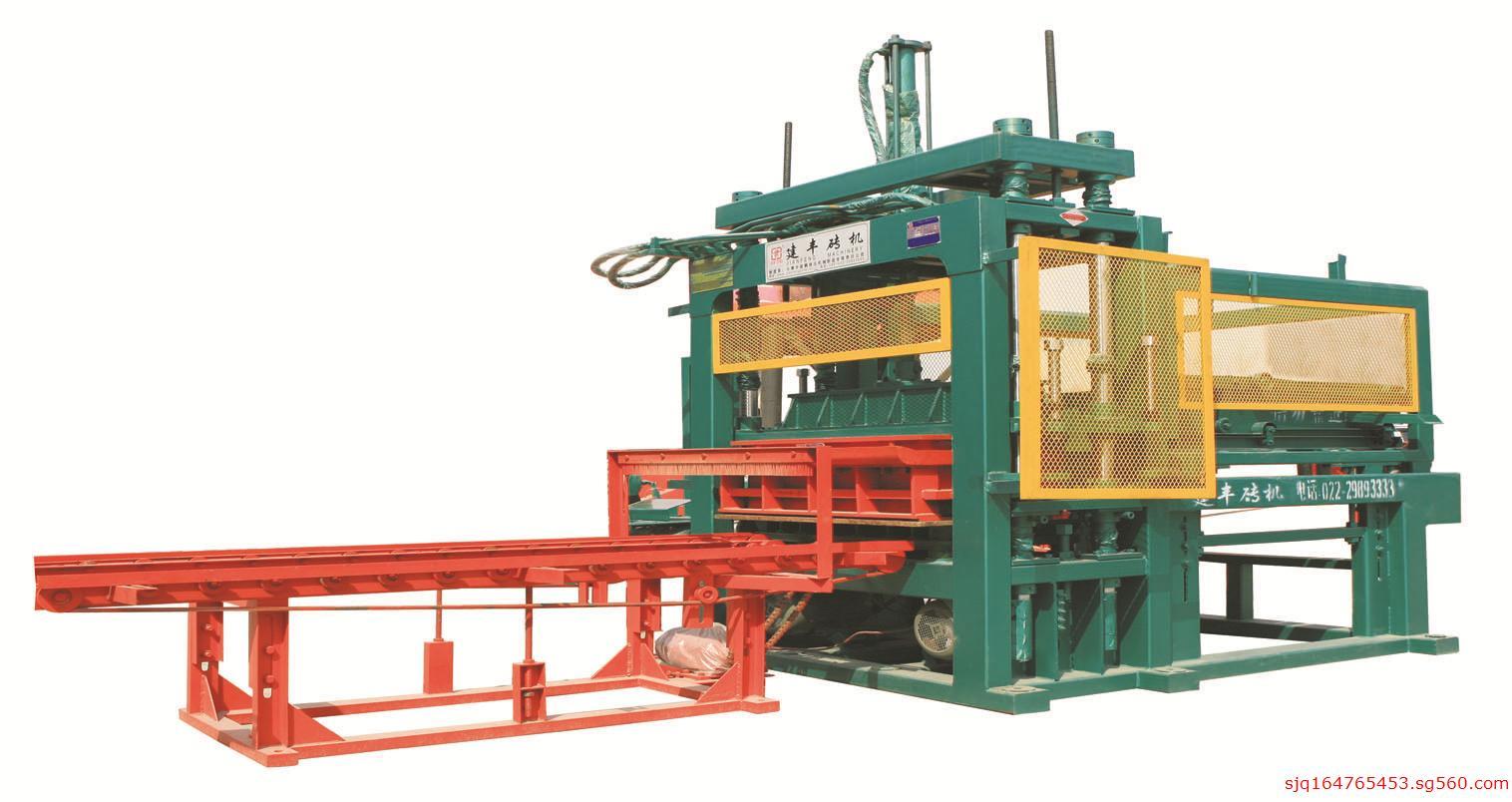 迁安最好的液压制砖机建丰免烧砖机空心制砖机各种液压制砖机大全图片