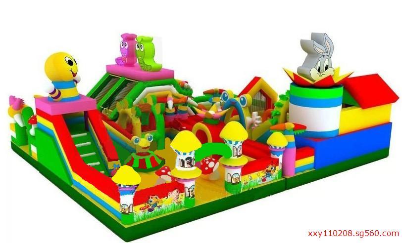 大风车大型儿童充气玩具