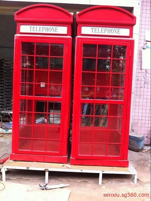 欧式电话亭_英式电话亭