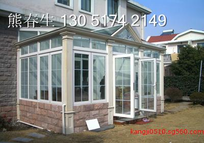 北京宣武区小区别墅建造阳光房