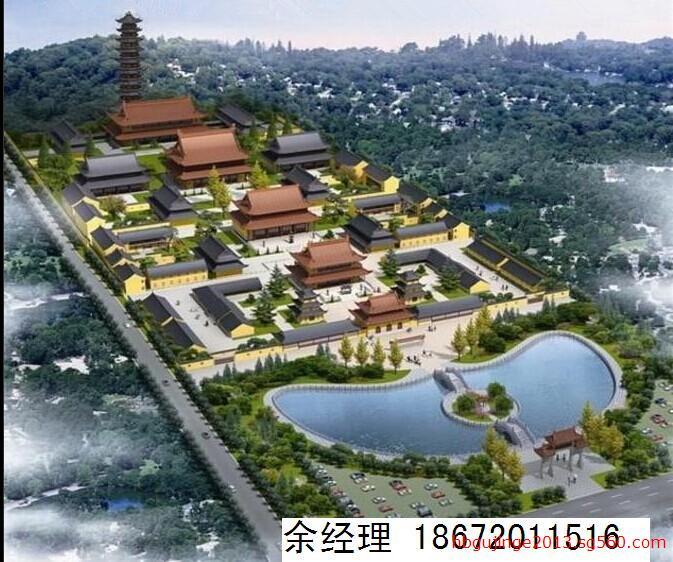 古建寺院规划设计,佛教寺庙设计,寺庙庙宇规划设计,古