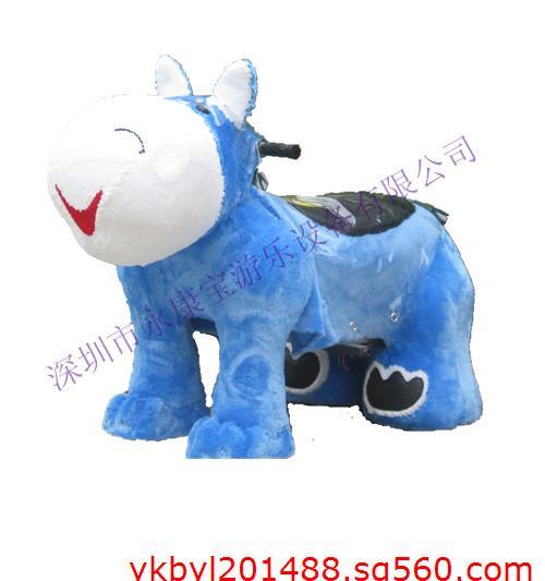 卡通动物造型电动车儿童游乐设备专业生产厂家