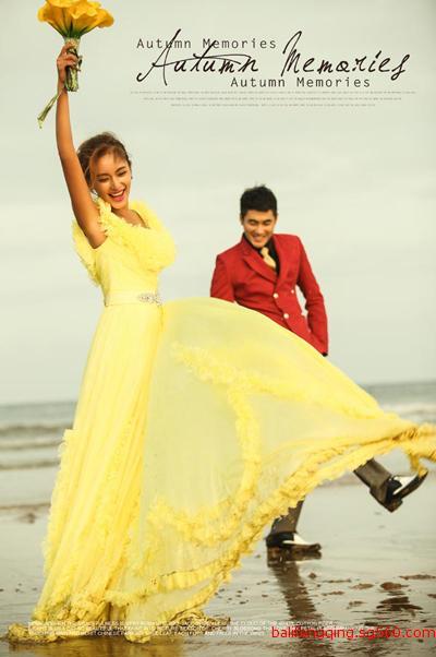 舞蹈海边拍照姿势