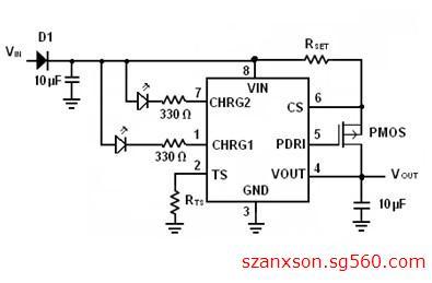 4.35v单节锂电充电管理芯片ic-ax6021