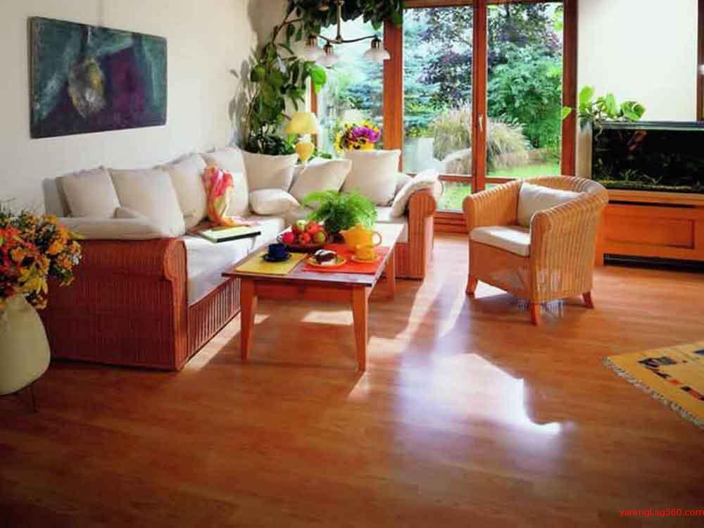 汶川装修铺木地板