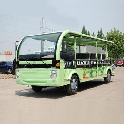 超强动力 19座四轮燃油观光车 景区游览内燃观光车 汽油看房