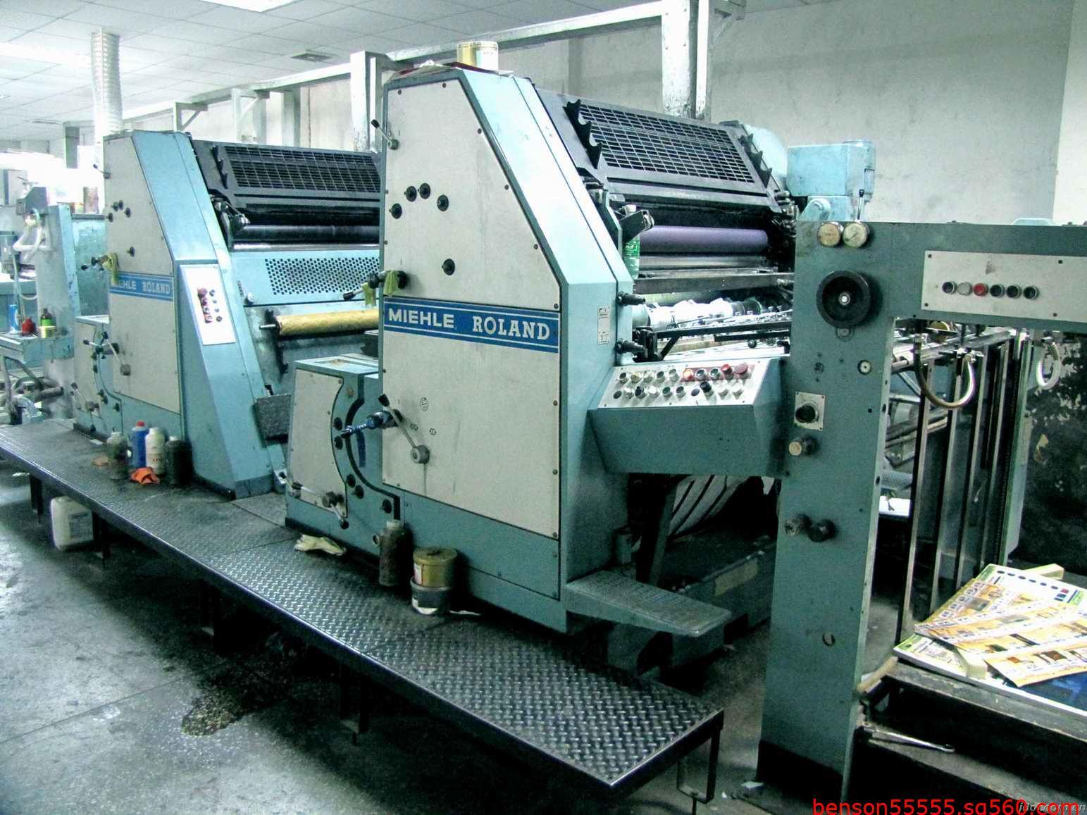 德国二手罗兰印刷机广州/上海进口报关行