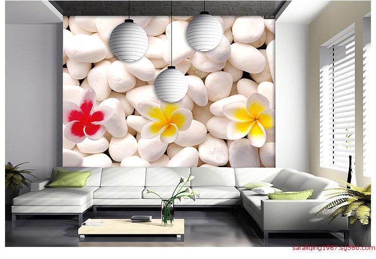 墙纸壁画厂家 定制韩式花纹壁画