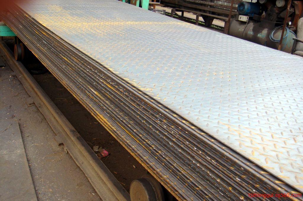 天津花纹钢板卷厂家 防滑钢板