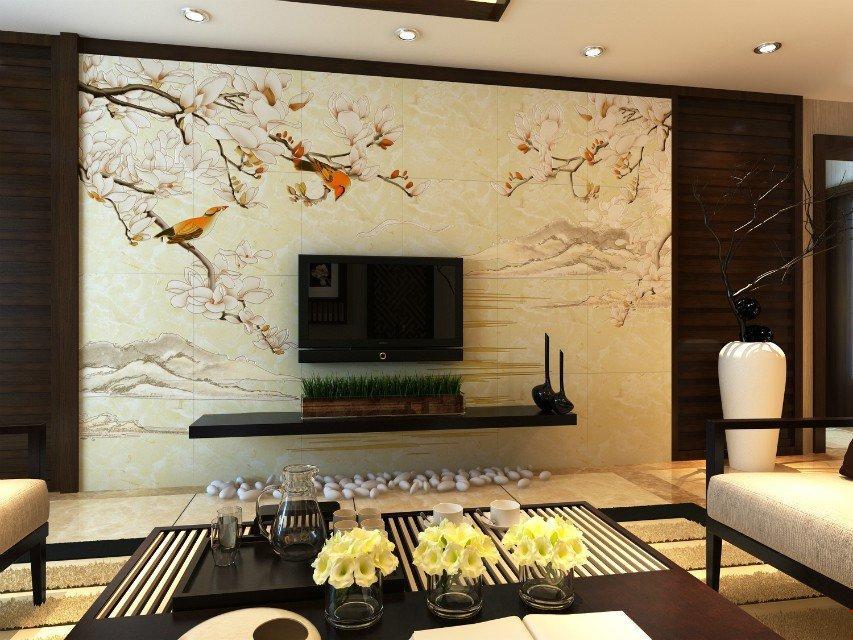 湖北省电视瓷砖背景墙万能uv打印设备厂家