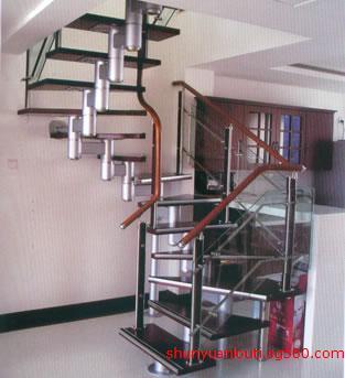 楼梯厂家批发室内复式旋转楼梯安装/价格