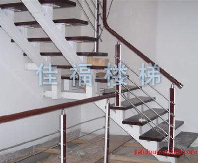 批发加工定制宾馆旋转钢木楼梯