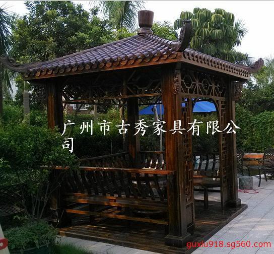 别墅庭院凉亭
