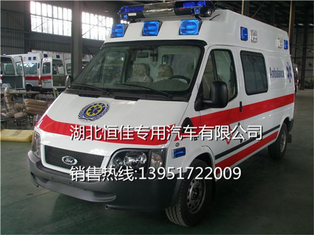 全顺120救护车图片