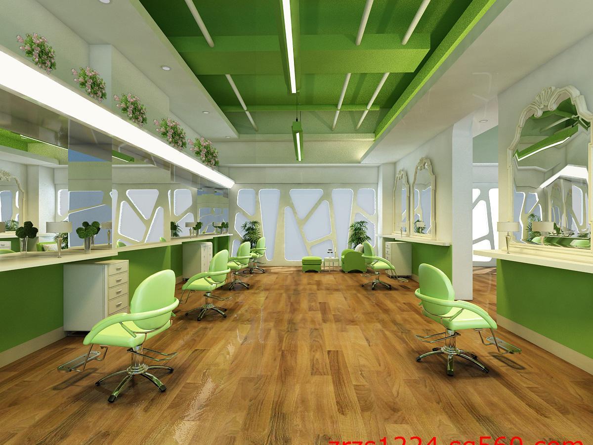 武汉专业美发店装修设计 理发店面装修设计公司