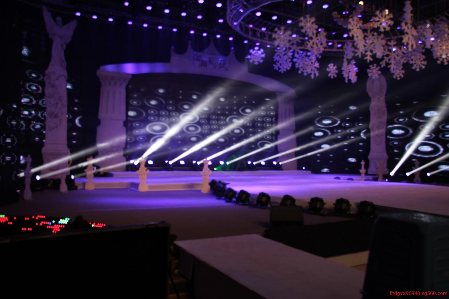 济南舞台灯光设计,舞台出租