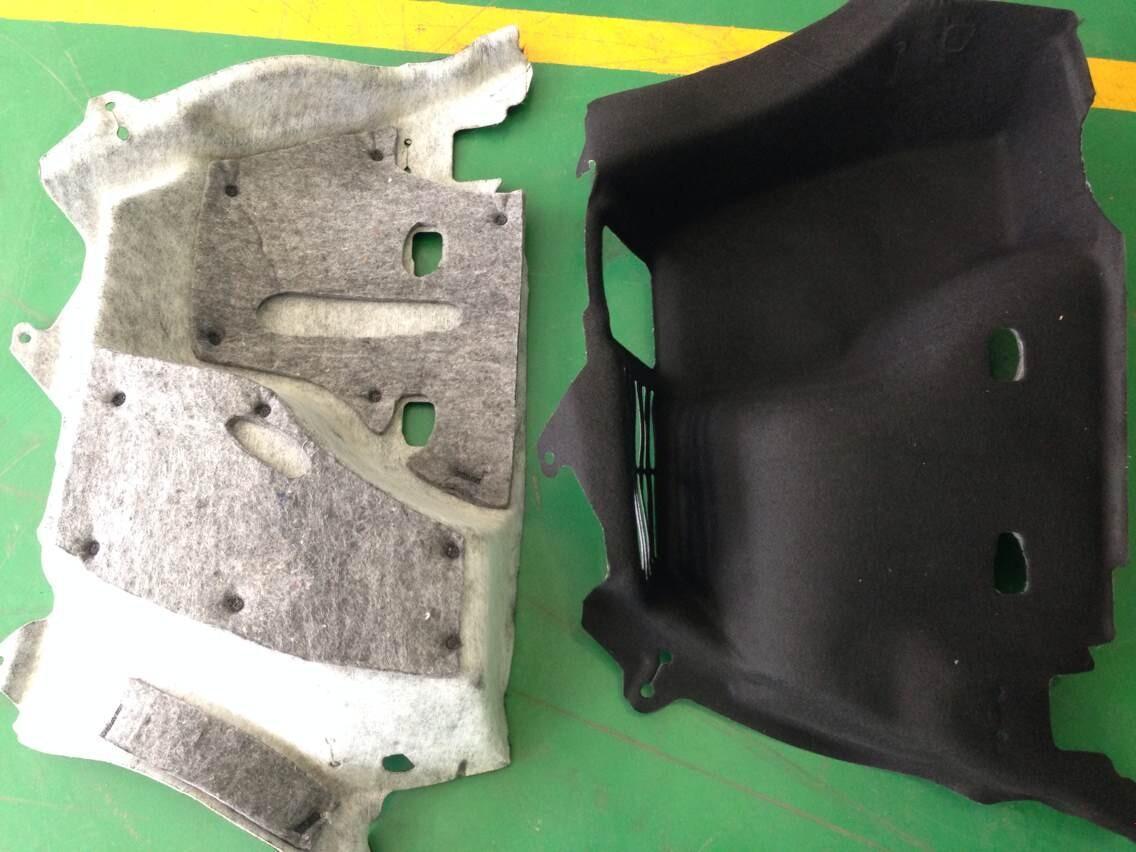 汽车行李箱毛毡无纺布焊接设备