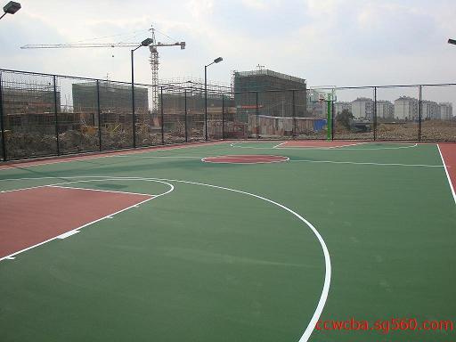 重庆篮球场标准尺寸划线图