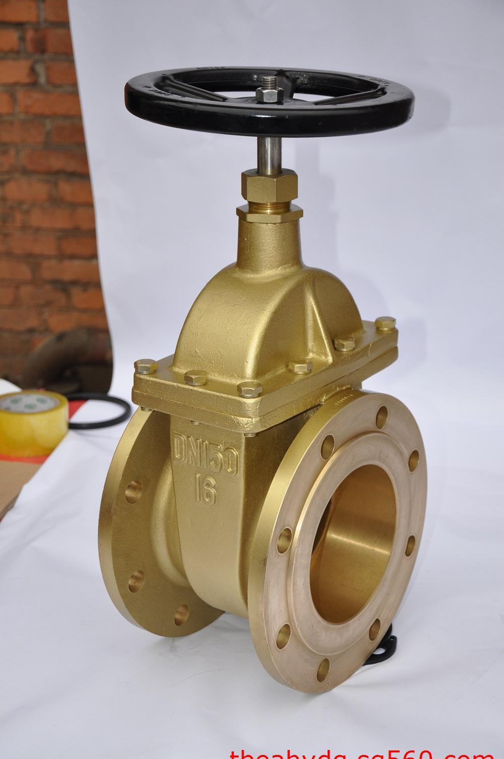 厂价直销批发变压器双向金属黄铜法兰闸阀图片