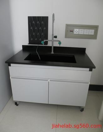 实验室水槽台 钢木水槽台 专业制作水槽台 实验室洗涤