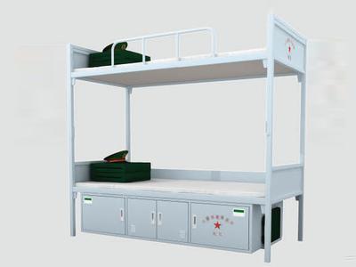 青岛上下床,实木床,家具双层床。定做各种非标安吉恒有限公司友部队图片