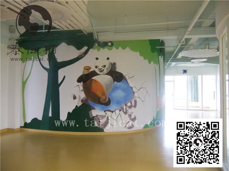 墙绘_墙体彩绘_深圳泰极猫绘画艺术有限公司 - 商国网