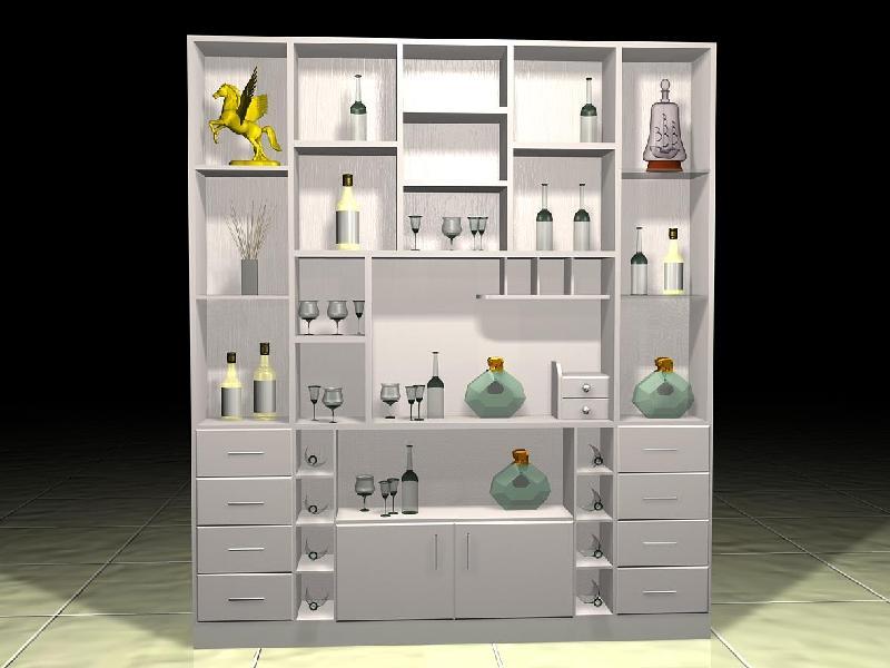 家用酒柜的制作图片
