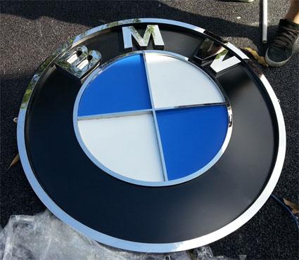 广州三维汽车标识制作,立体汽车logo制作