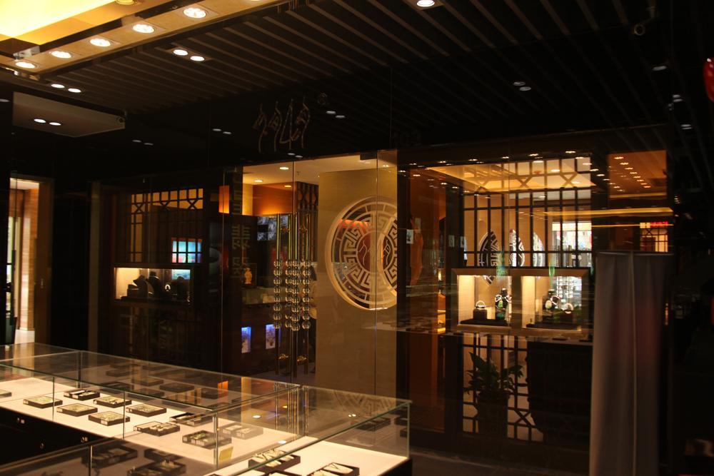 上海专业珠宝店装修设计公司