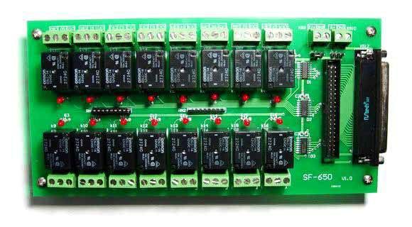 sf-650电磁继电器端子板