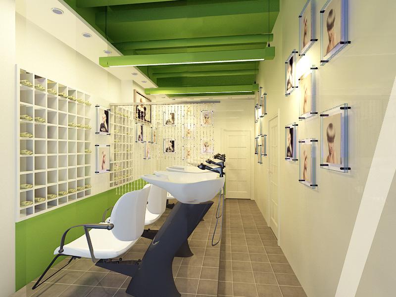 武汉美发店装修设计公司 美发店设计 美发店改造