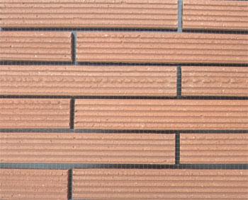 外墙劈开砖系列介绍之线条系列
