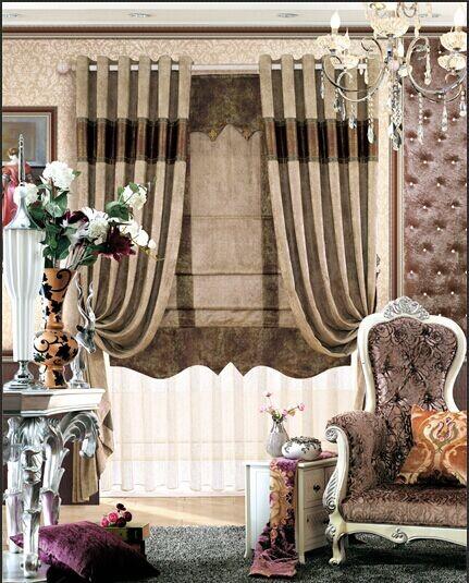 别墅窗帘布艺品牌加盟 办公室/客厅/欧式卧室窗帘定做