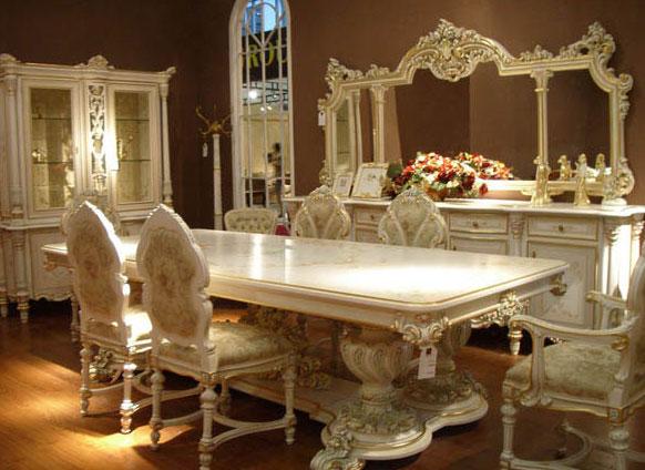 欧式餐桌:欧式餐桌搭配及图片