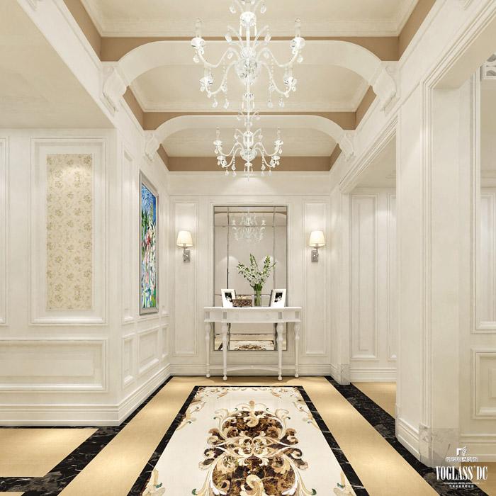 杭州尚层装饰别墅装修简欧风格实景案例