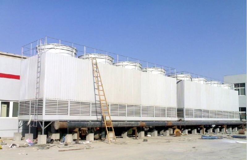 方形逆流式冷却塔 方形闭式冷却塔厂 喷雾式玻璃钢冷却