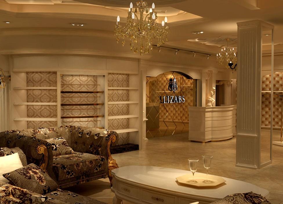 郑州最专业的服装店装修设计公司是哪里就是大地装饰