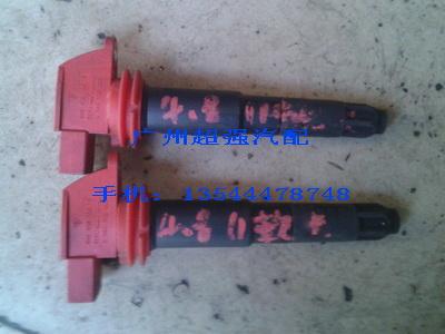 保时捷 卡宴4.8点火线圈 冷气泵 起动机 连杆