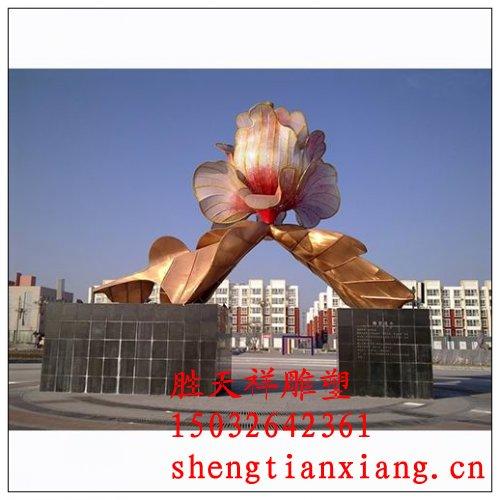 花卉不锈钢雕塑产品展示 不锈钢雕塑设计 不锈钢雕塑定做 不锈钢雕塑