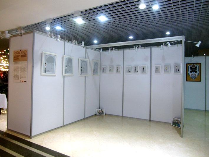 杭州广告展览展板出租