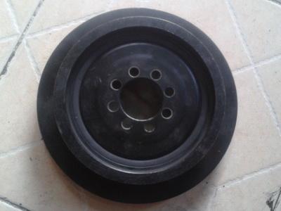 宝马n55发动机皮带轮 三元催化器 水泵