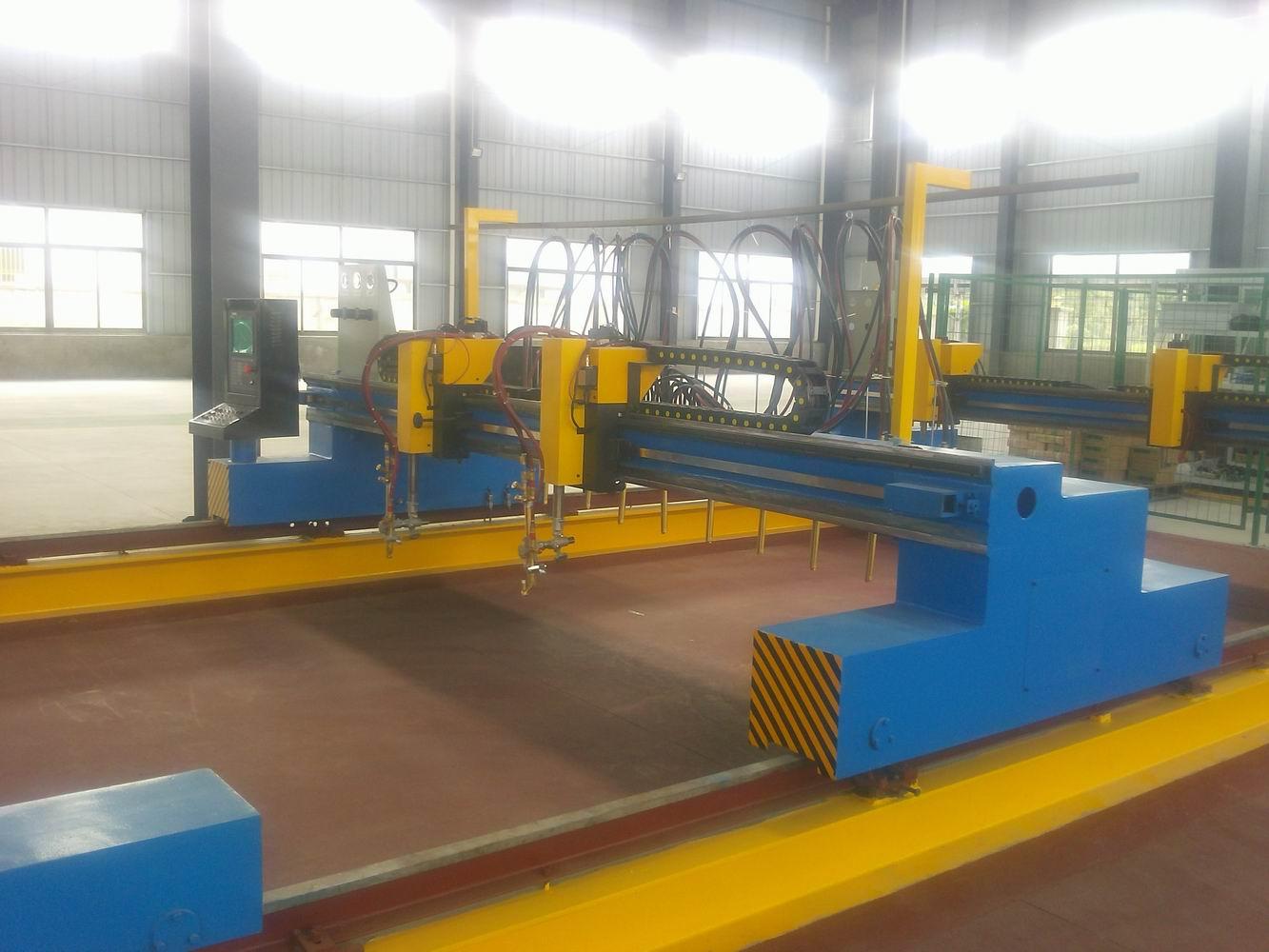 焊接生产线焊接辅机——切割机 钢结构焊接设备