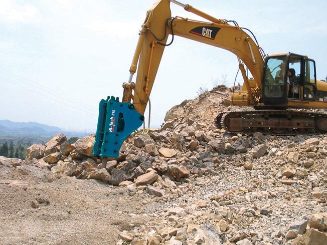 挖掘机液压破碎锤多少钱?图片